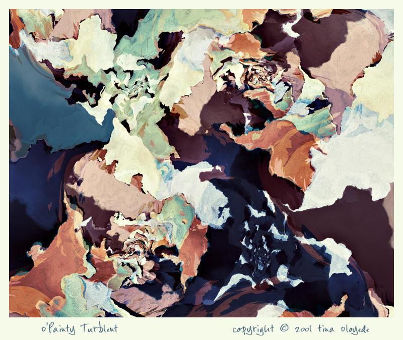 O'Painty Turbulent by aartika-fractal-art