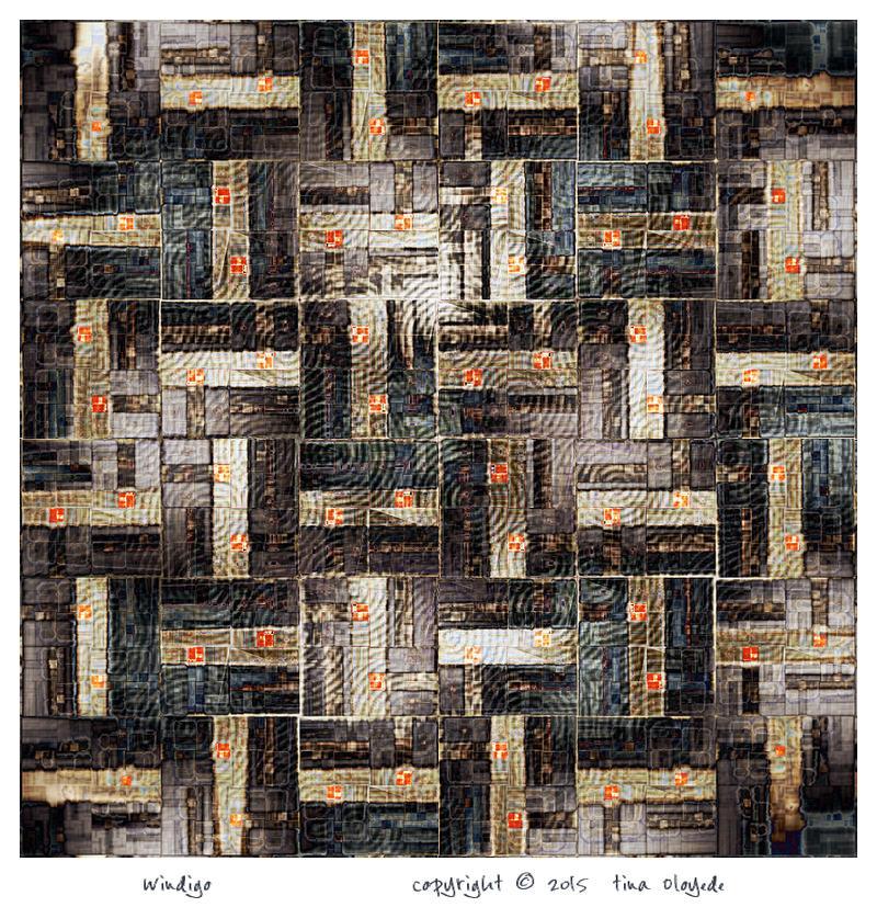 Windigo by aartika-fractal-art