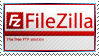 FileZilla - Free FTP Software Stamp by aartika-fractal-art