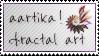aartika! fractal art  ~ Stamp by aartika-fractal-art