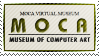 MOCA - Museum of Computer Art ~ Stamp by aartika-fractal-art