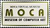 MOCA - Museum of Computer Art ~ Stamp by aartika-fractal-art