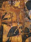Tina Oloyede - Ochre Leaves by aartika-fractal-art