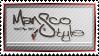 Mansco Style ~ Stamp by aartika-fractal-art