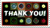 Thank You! ~ Stamp by aartika-fractal-art