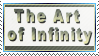 The Art of Infinity ~ Stamp by aartika-fractal-art