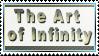 The Art of Infinity ~ Stamp by aartika-fractal-art