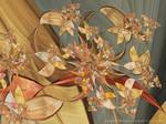 Honeysuckle II by aartika-fractal-art