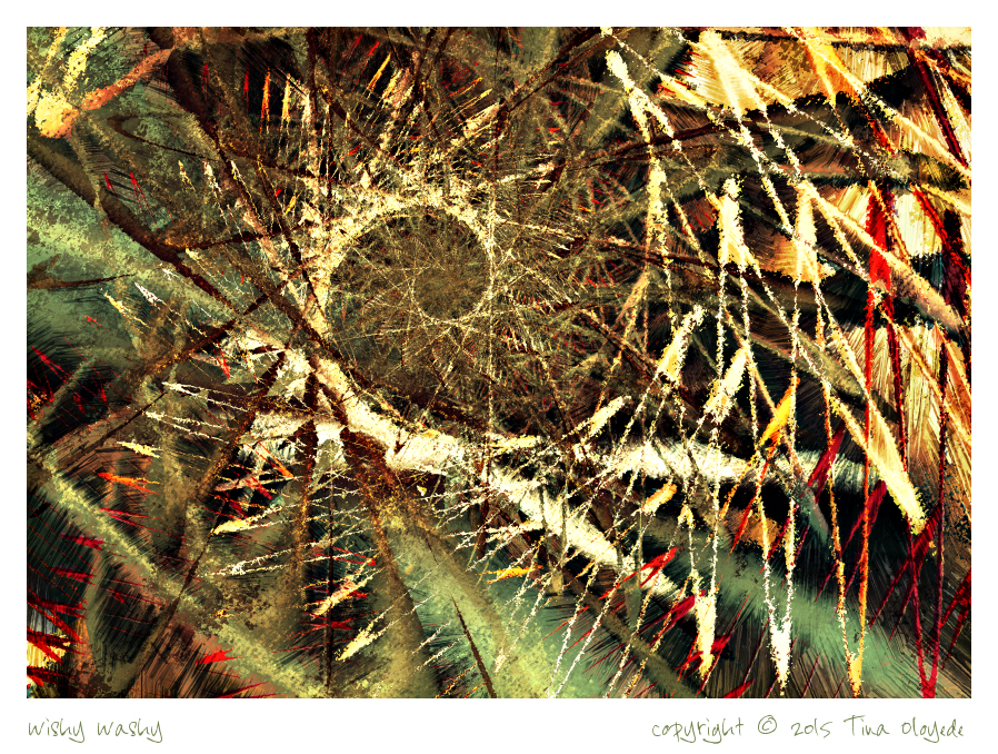 Wishy Washy by aartika-fractal-art