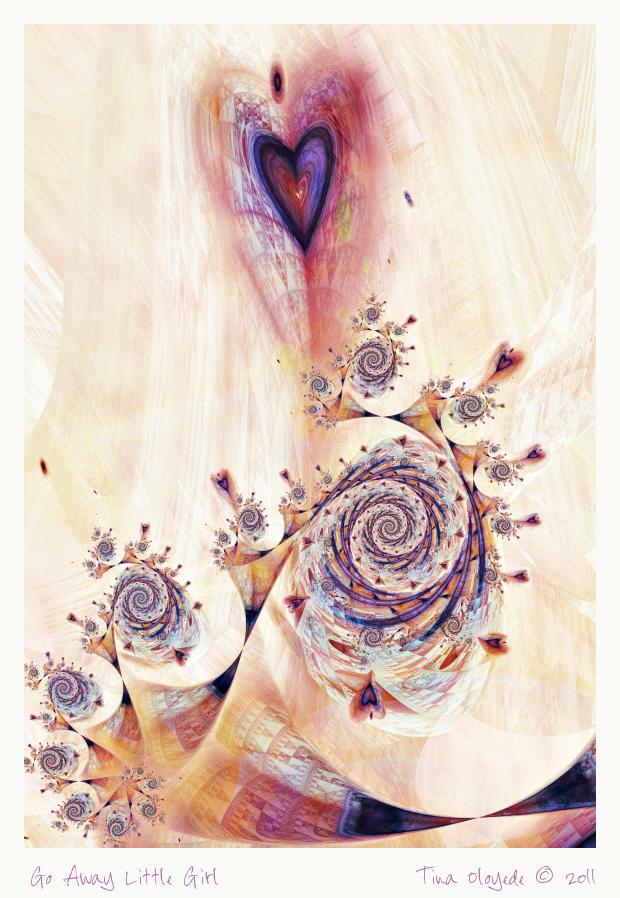 Go Away Little Girl by aartika-fractal-art