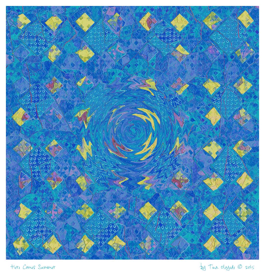 Here Comes Summer by aartika-fractal-art