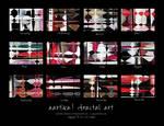 900x600x12 Fractal Art Calendar by aartika-fractal-art