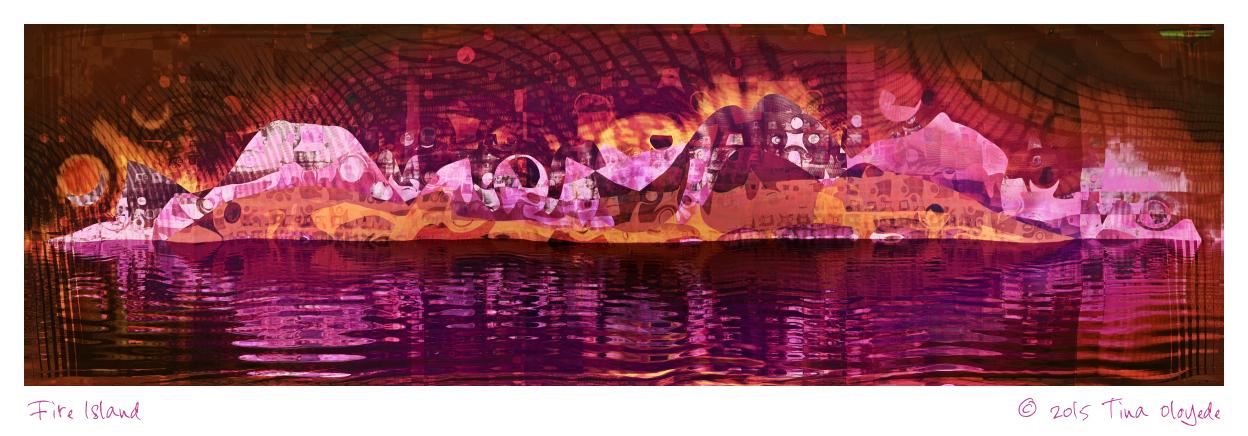 Fire Island by aartika-fractal-art