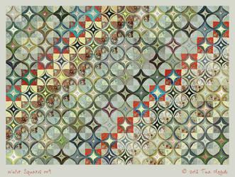 Winter Squares 009 by aartika-fractal-art