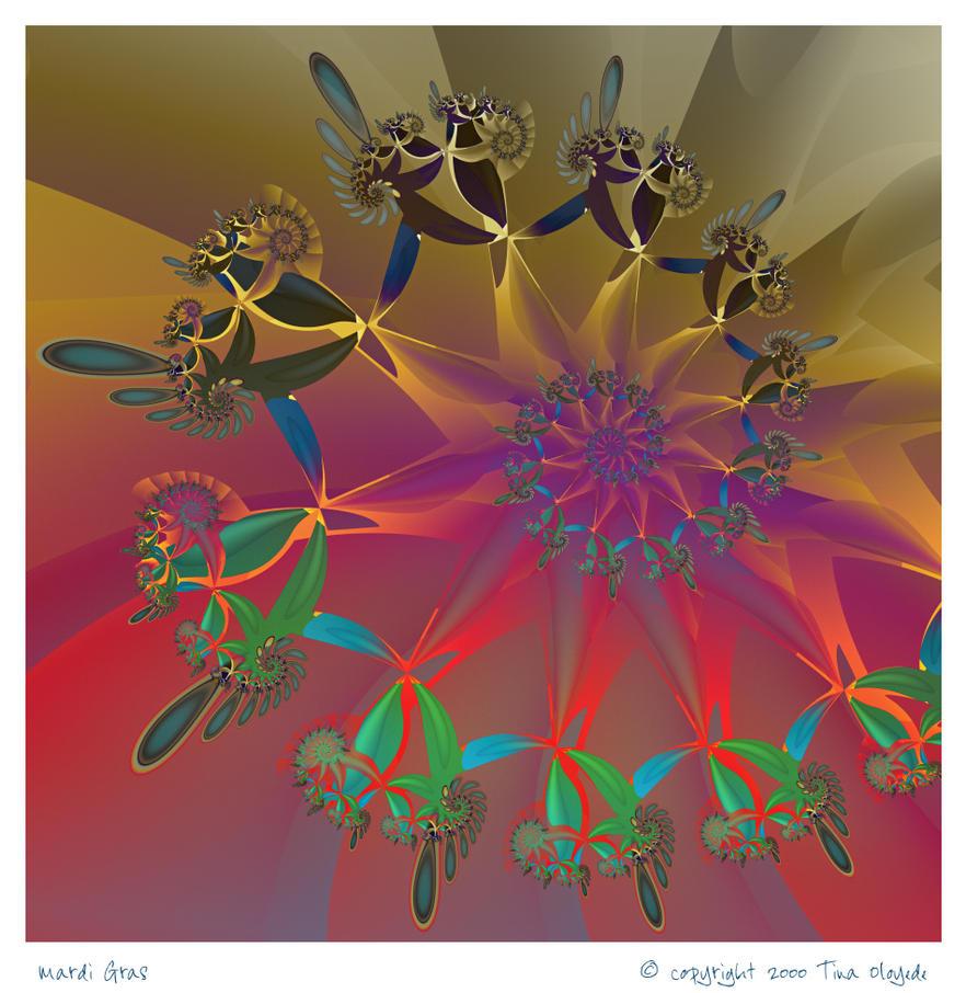 Mardi Gras by aartika-fractal-art