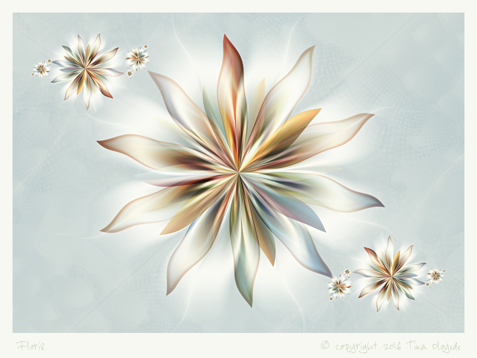 Floris by aartika-fractal-art