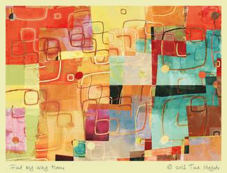 Find My Way Home by aartika-fractal-art