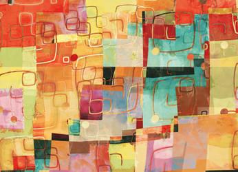 Find My Way Home - Print Version by aartika-fractal-art