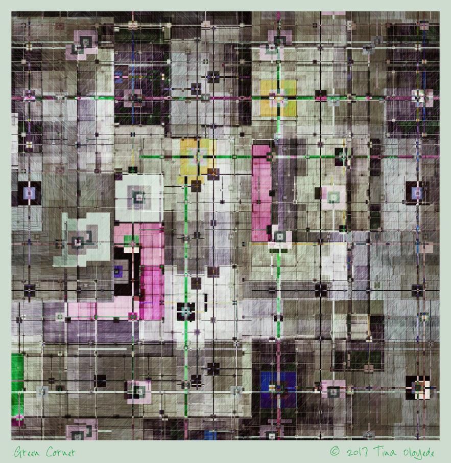 Green Corner by aartika-fractal-art