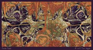 Purple People by aartika-fractal-art