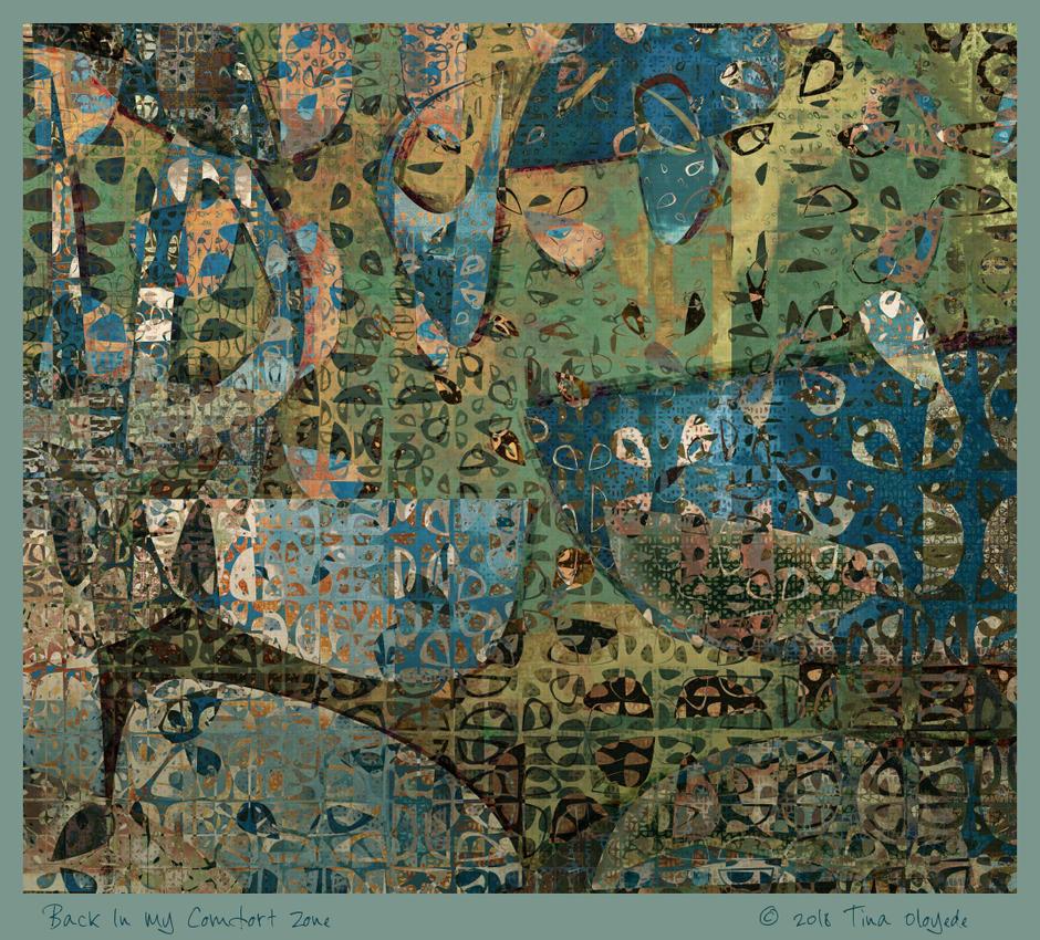 Back In My Comfort Zone by aartika-fractal-art