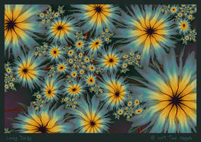 Lazy Daisy by aartika-fractal-art
