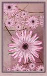 Pink Flowers by aartika-fractal-art