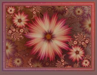 Messy Flowers by aartika-fractal-art