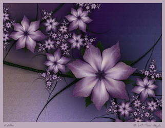 Violetta by aartika-fractal-art
