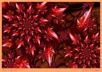 Thorn in My Side by aartika-fractal-art