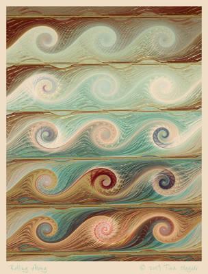 Rolling Along by aartika-fractal-art
