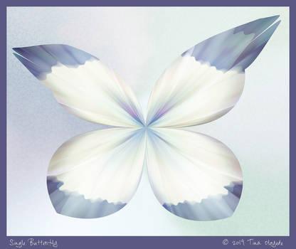 Single Butterfly by aartika-fractal-art