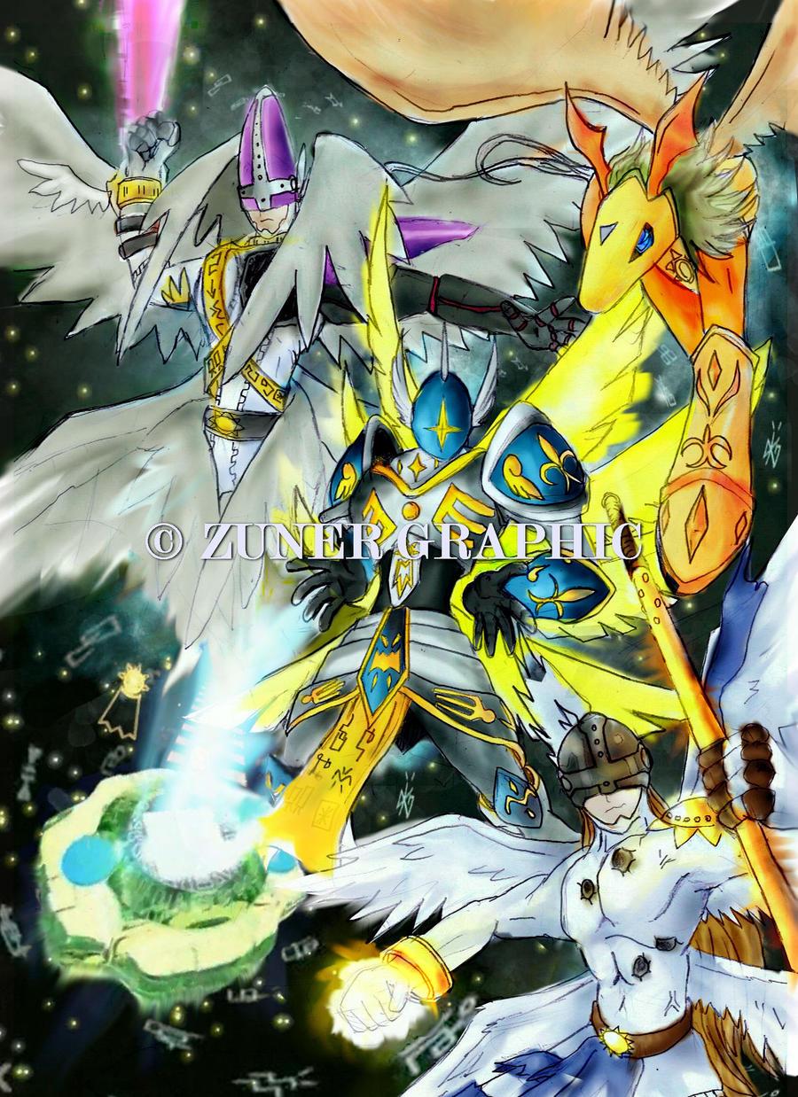 angemon evolution by zuner92 on deviantart