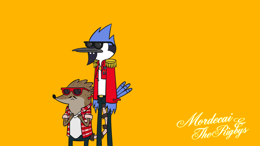 Mordecai TheRigbys Wallpaper By HotBloodandStuff