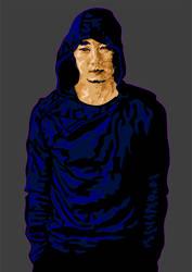 Park Hae-il / the Archer by Rektozhan