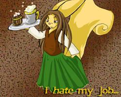Hannah's jobs woes... by linnen