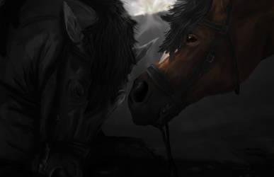 Wake up Topthorn. War Horse by SophieWoollard