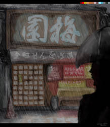 Japanese Shop Front by SophieWoollard