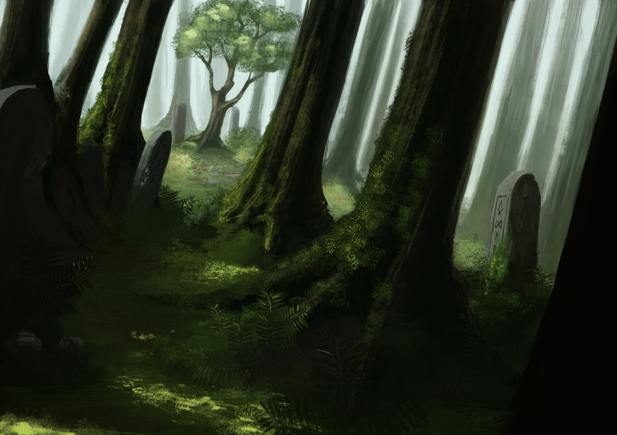 Forest - Landscape2 by MarschelArts