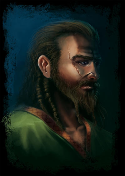 viking portrait by MarschelArts