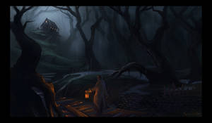 Dark marsh
