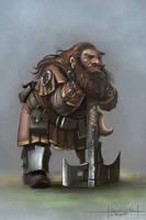 practise5 Dwarf by MarschelArts
