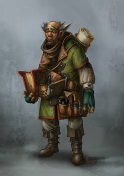 Scribe - Character Painting