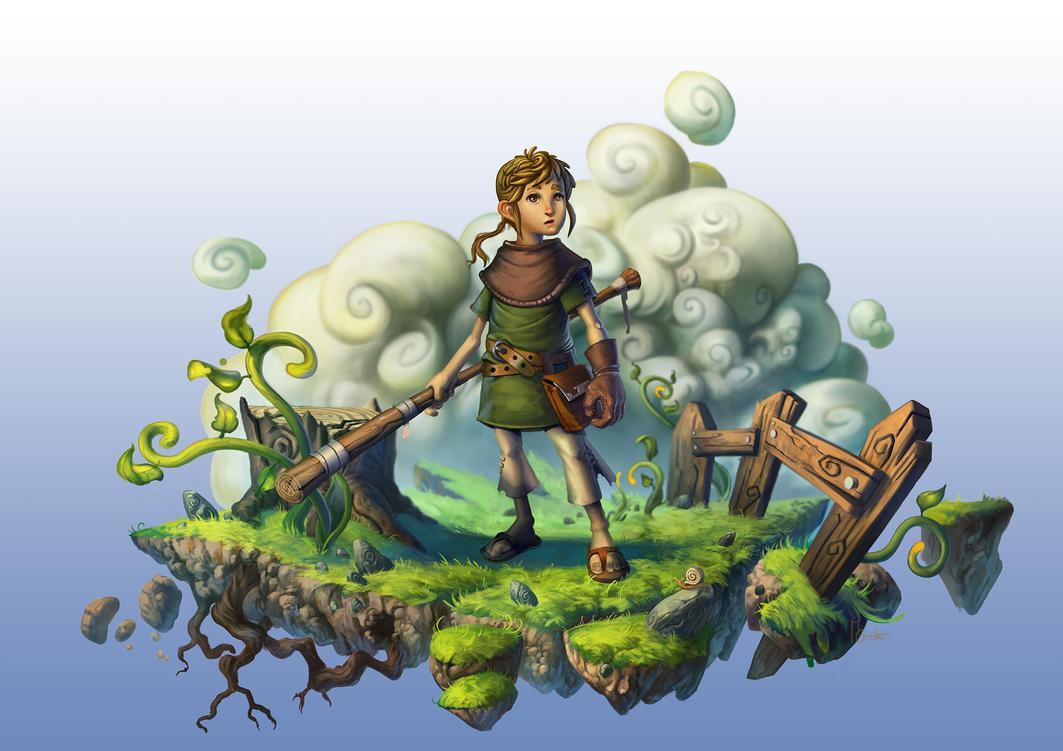 Peasant boy by MarschelArts