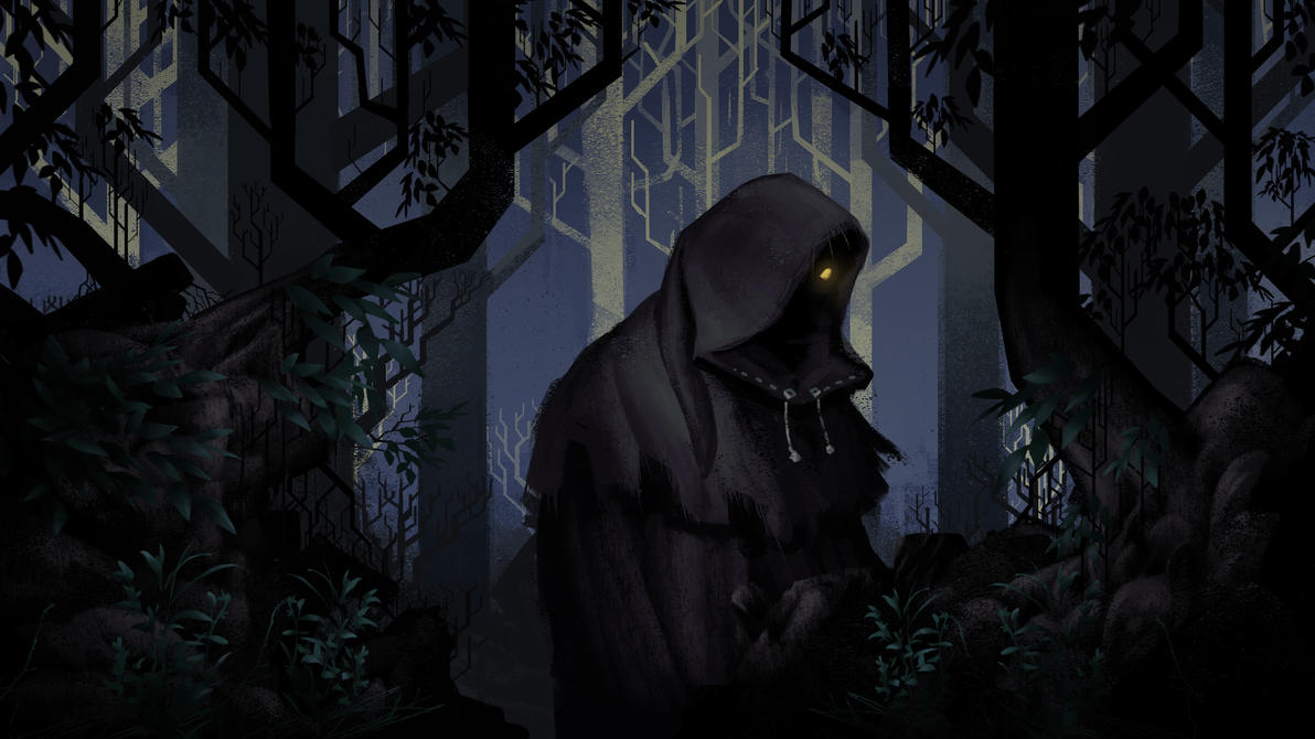 Cloaked in the rain by MarschelArts