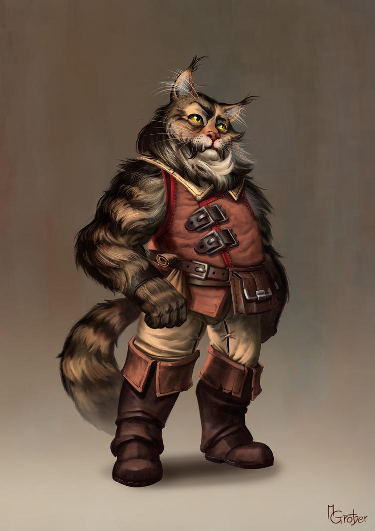 Aaric Jholgersen - Character Illustration by MarschelArts