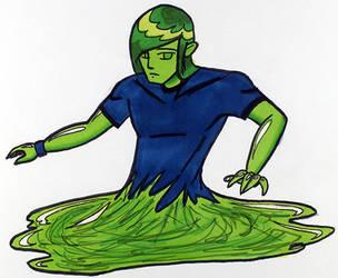 Male Slime by emoangelboy