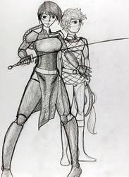 Warrior Woman by emoangelboy