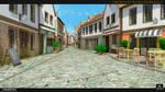 old town street by Voloshenko