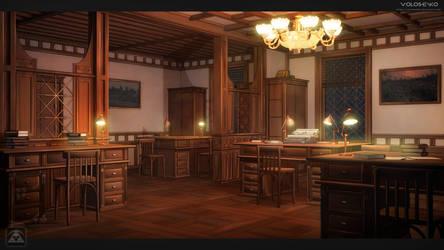 ZOI Office. steampunk by Voloshenko